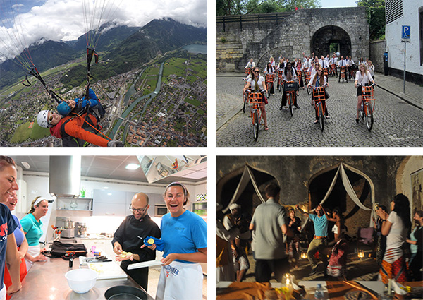 Students study abroad around the world