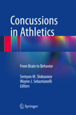Concussions in Athletics Book Cover