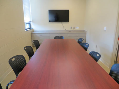 group dining and conference room