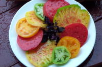 Consuming more colorful fruits and vegetables is linked with a lower risk for cancer.