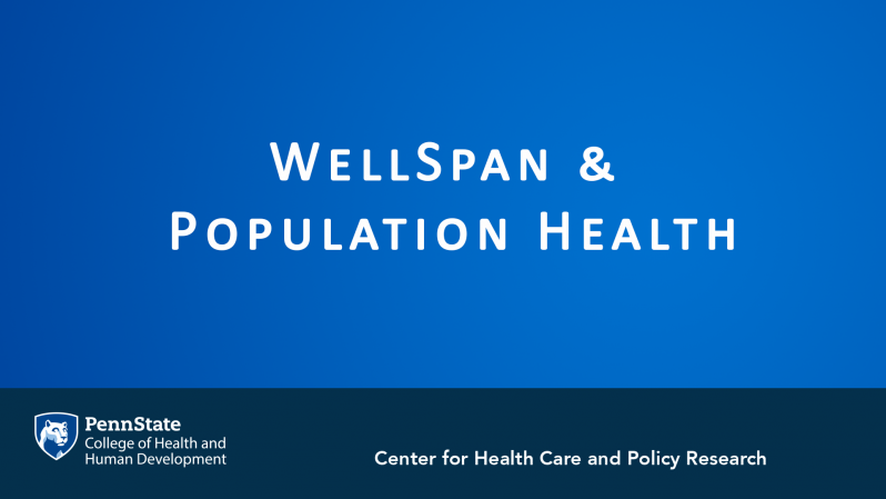 WellSpan Overview