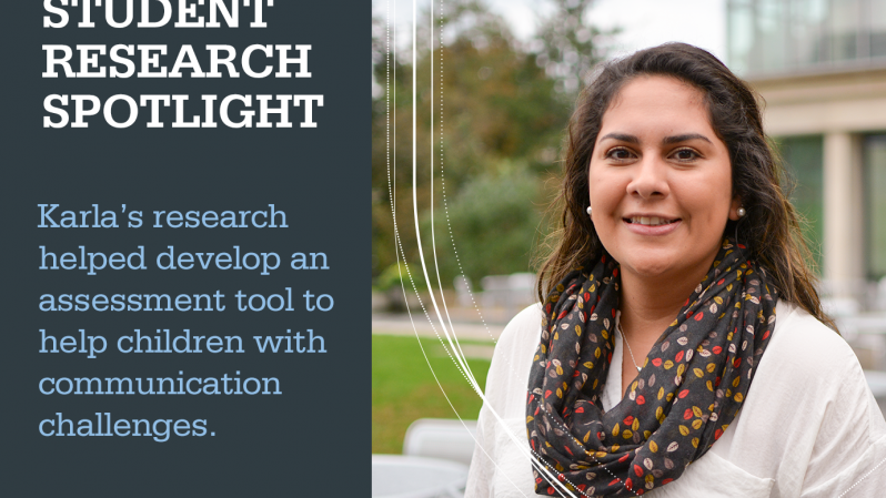 Student Research Spotlight - Karla Armendariz