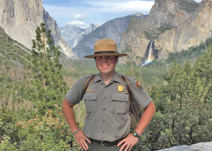Matt Enderle at Yosemite National Park