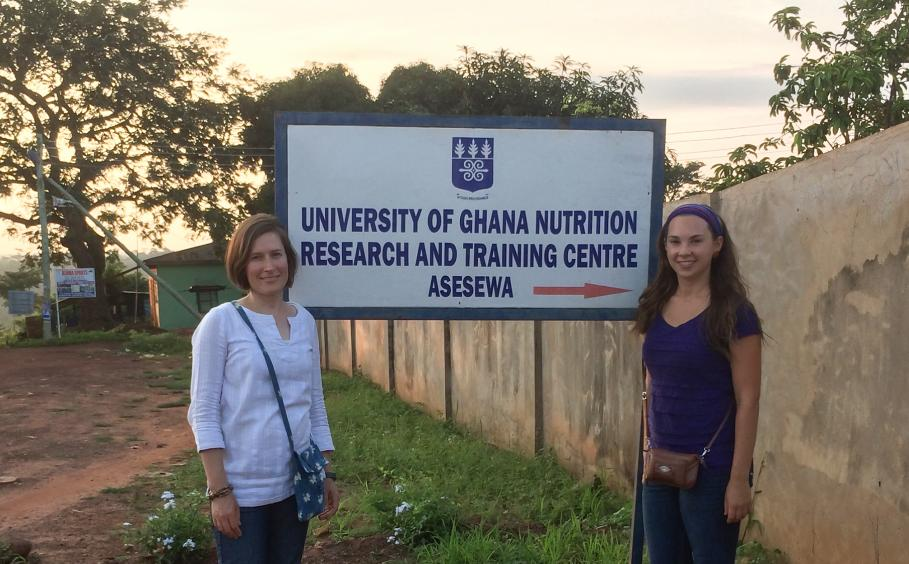 Professor and student at the University of Ghana.