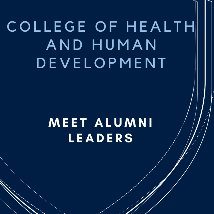 meet alumni leaders. Decorative image